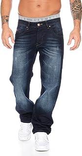 Rock Creek RC-2091 Men's Straight Leg Jeans Blue