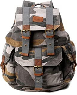 The Same Direction Renegade Camouflage Canvas Backpack