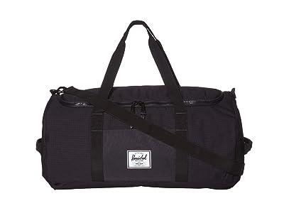 Herschel Supply Co. Sutton (Dark Grid/Black) Duffel Bags
