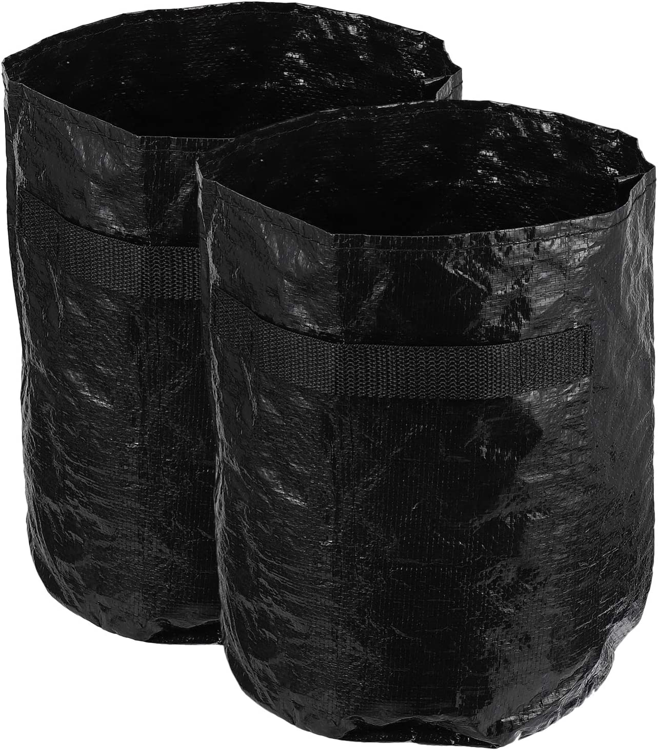 Yardwe 2pcs Excellent Reusable Garden Waste Yard Leaf Large Inexpensive Bags with