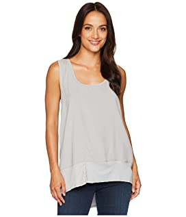 Pure Cotton Rib Hem Tank Top