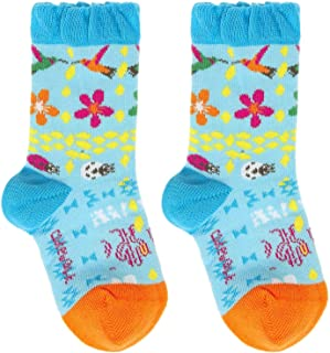 EveryKid Ewers 1er EW-24224-S19-MA0 inkl Fashionguide 2er oder 3er Pack M/ädchensocken Sparpack Markensocken Socken Str/ümpfe S/öckchen Kleinkind ganzj/ährig einfarbig Sommerfarben f/ür Kinder