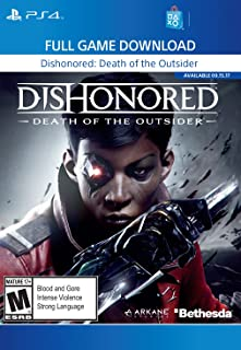 Dishonored: Death of the Outsider - PS4 [Digital Code]