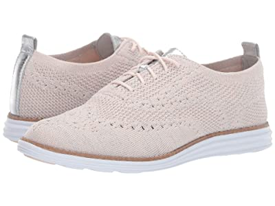 Cole Haan Original Grand Stitchlite Wing Oxford (Peach Blush) Women