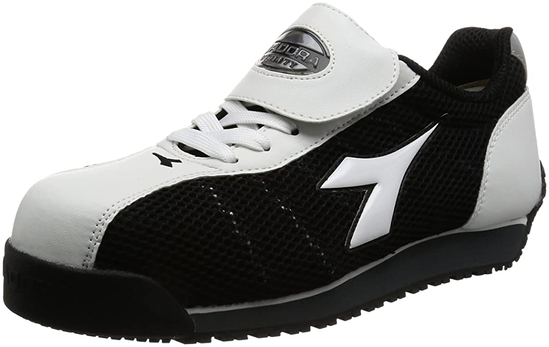 [ディアドラユーティリティ] 作業靴 スニーカー キングフィッシャー KF12 KF12 ホワイト&ブラック(ホワイト&ブラック/25.0)