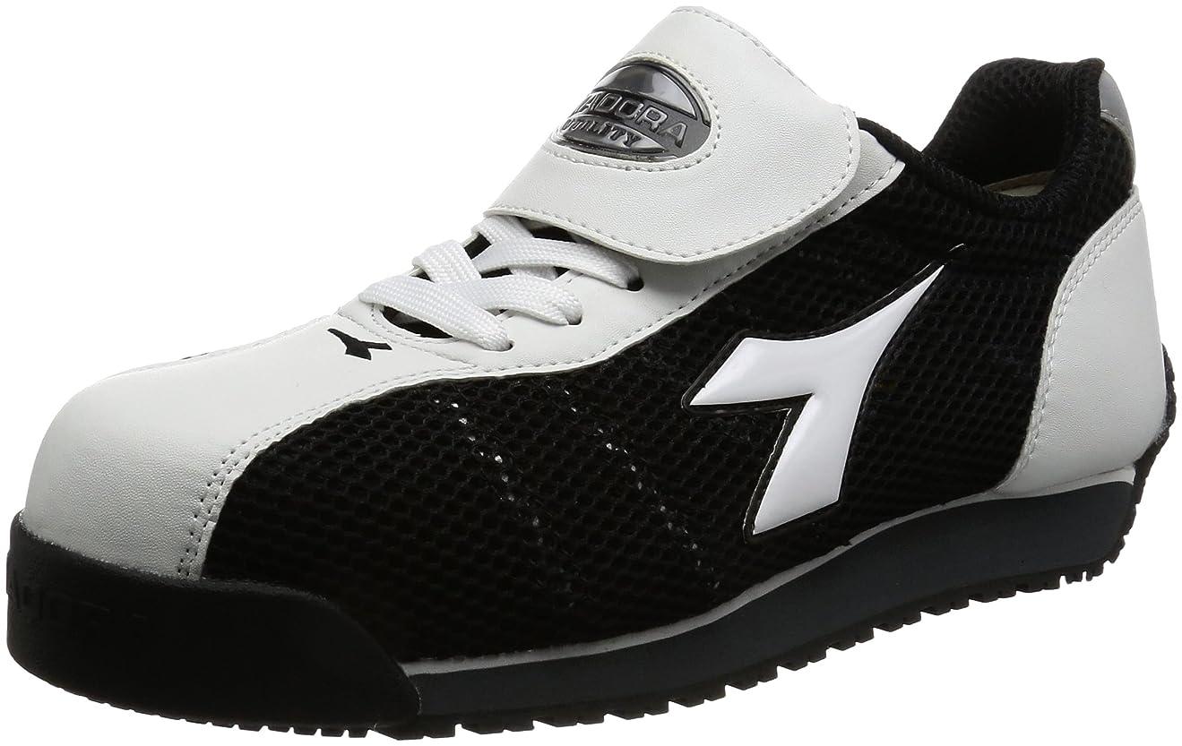かわいらしい四面体大胆不敵作業靴 スニーカー キングフィッシャー KF12 KF12 ホワイト&ブラック(ホワイト&ブラック/28.0)
