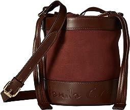 Secchiello Clica Crossbody Bucket Bag
