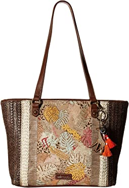 dccc8285314 Sakroots artist circle xl tote radiant one world   Shipped Free at ...