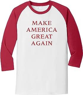 Donald Trump Make America Great Again Baseball T-Shirt