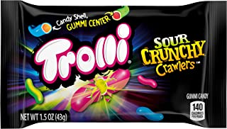 Trolli Crunchy Crawlers, 1.5 Ounce, Pack of 18