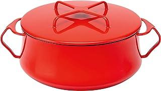 Dansk Chili Red Kobenstyle 4 Qt. Casserole, 6.25 LB