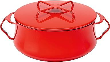 Dansk Kobenstyle Chili Red Casserole, 4-Quart