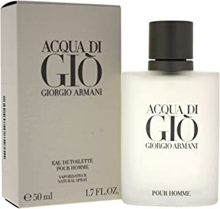 Giorgio Armani Acqua Di Gio Eau De Toilette Spray for Men, 1.7 Ounce, White, 1.7 Fl. Oz