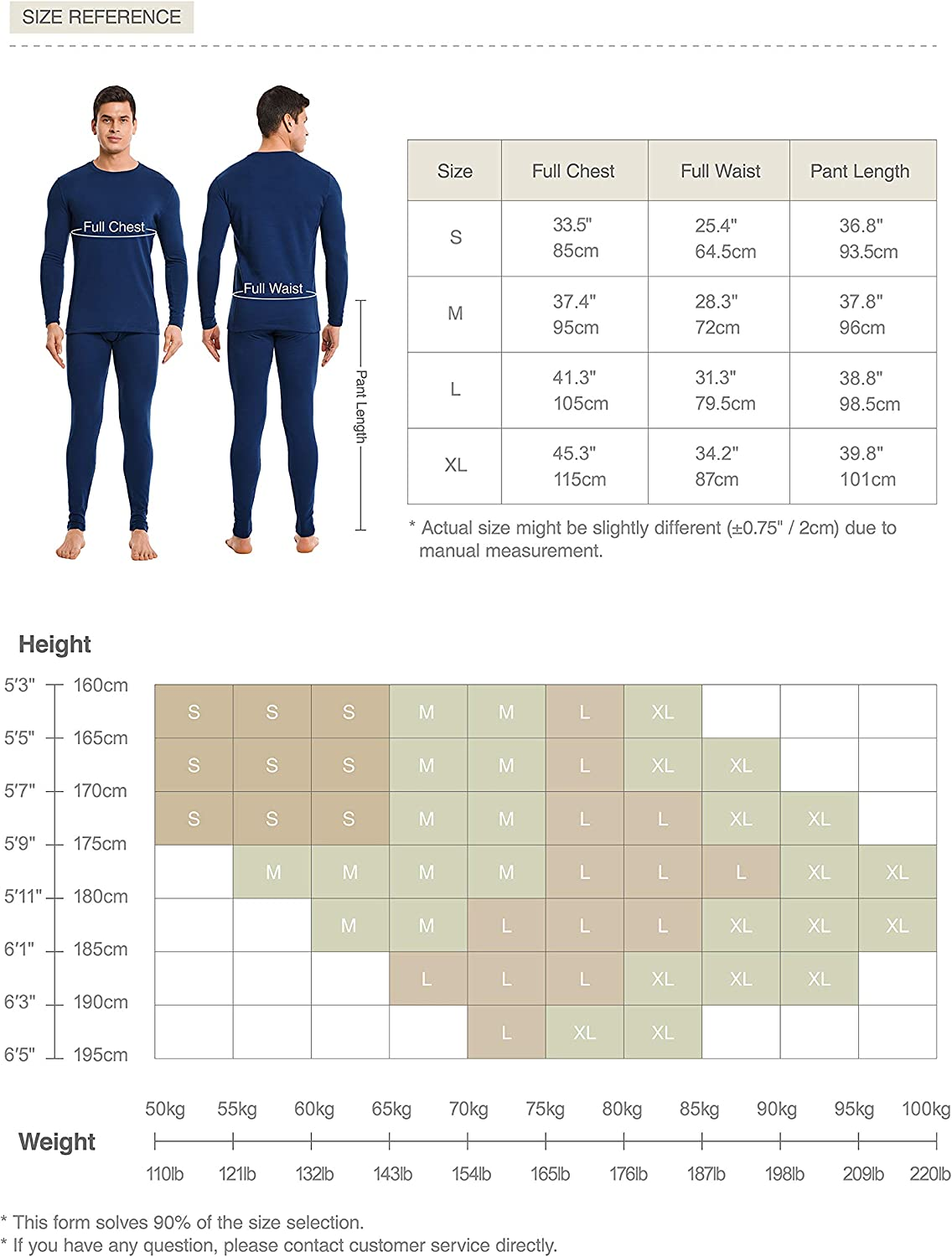 DAVID ARCHY Mens Ultra Soft Cotton /& Acrylic Base Layer Thermal Set Long John with Fly