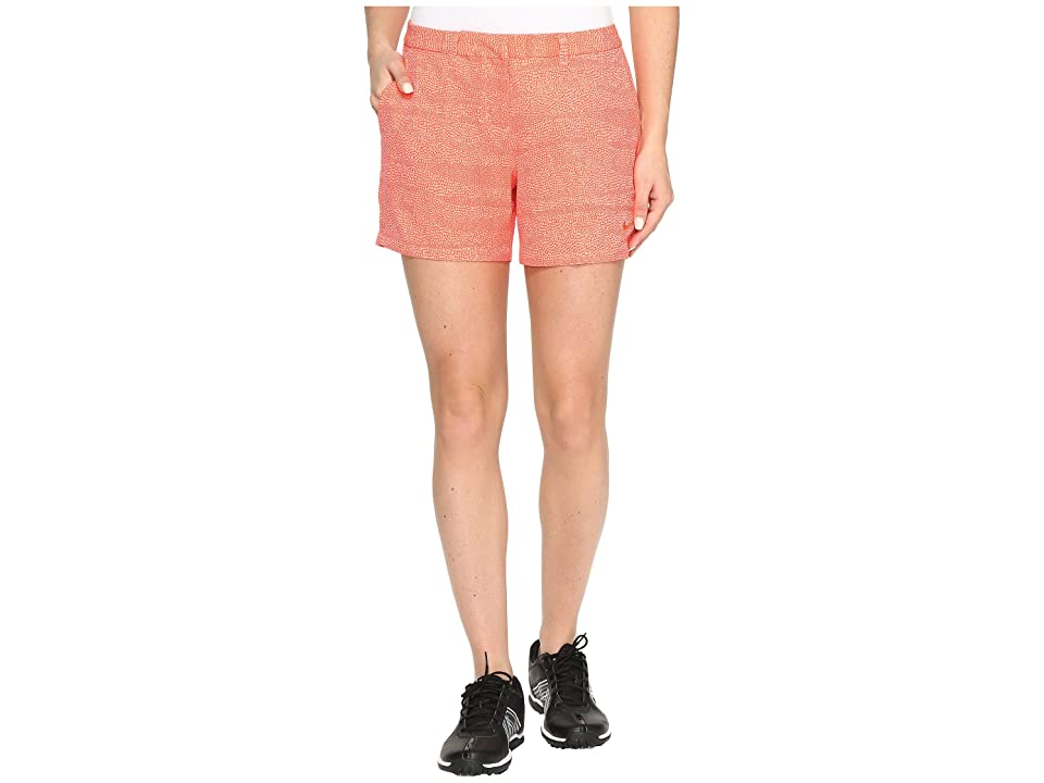 Nike Golf Printed 4.5 Shorts (Max Orange/Lava Glow/Max Orange) Women