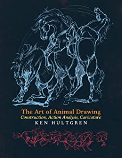 animal caricature drawing