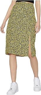 Women's Front Slit Maxi Skirt
