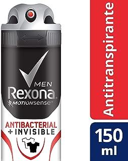 Antitranspirante Rexona Men Antibacterial + Invisible en aerosol 90 g