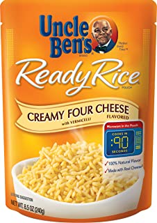 UNCLE BEN'S Ready Rice: Creamy Four Cheese (12pk)