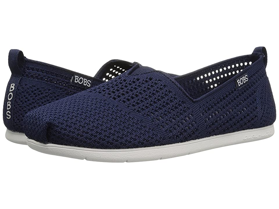 BOBS from SKECHERS Plush Lite Peek (Navy) Women