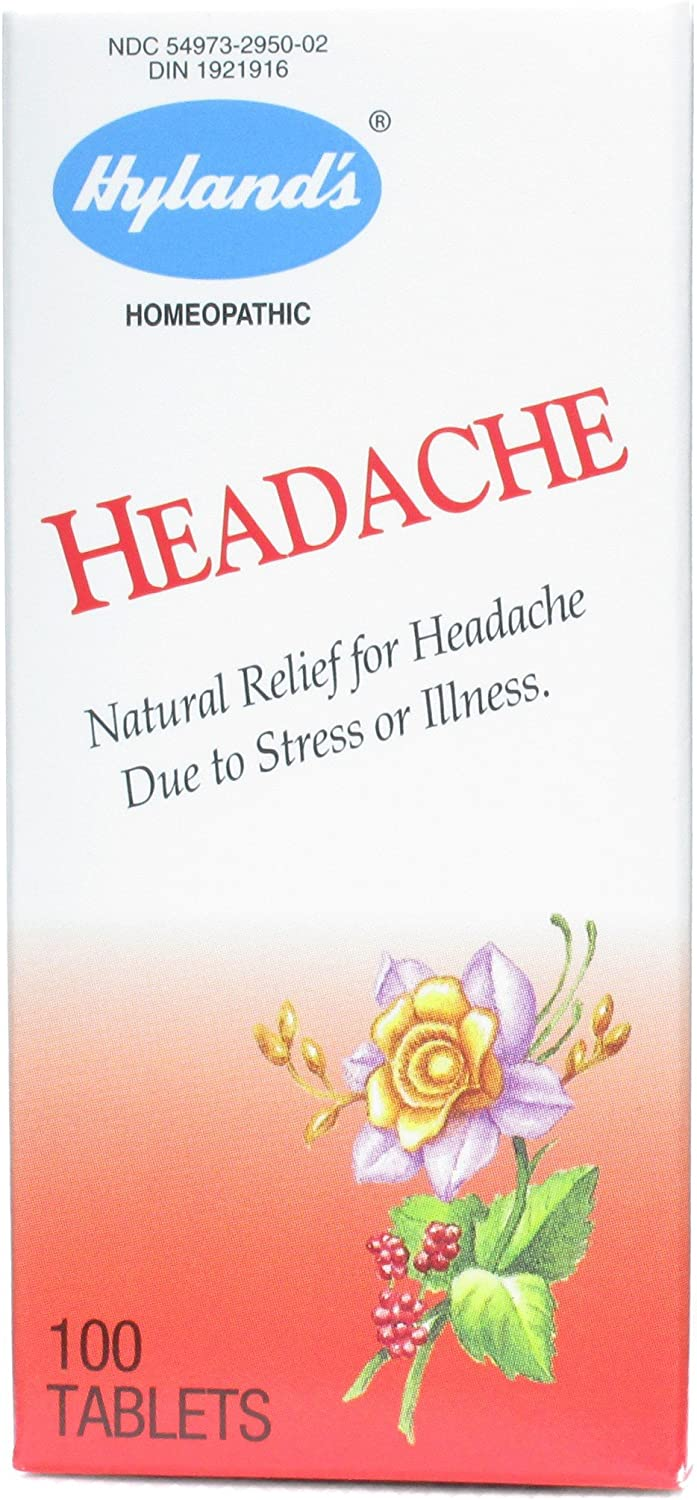 Hylands Brand new Headache Large discharge sale - 100 pack -11 Tablets of