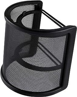 KUUQA ポップガード ポップブロッカー ウィンドスクリーン U型 マイクフィルタ ノイズ防止 テレワーク 除菌 ゴムバンドで強力固定