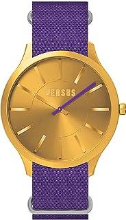 Versus Versace - Versus SO606 0013 - Reloj de Cuarzo Unisex, Correa de Nailon Color Morado
