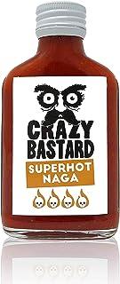 Crazy B Sauce Superhot Naga - Extrem scharfe Chili-Sauce mit 50% Baut Jolokia Chili