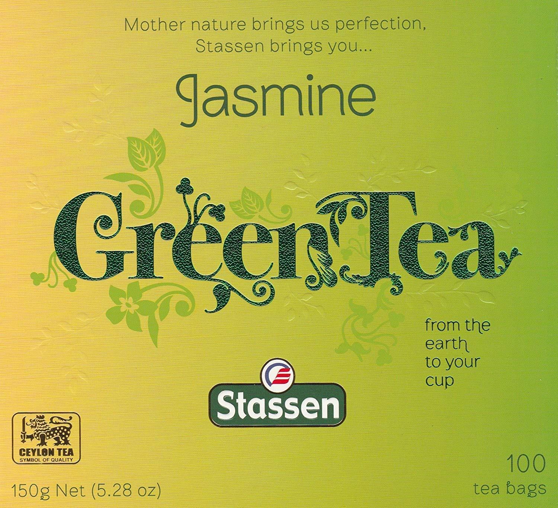 Stassen Pure Jasmine Green Bags Tea Regular discount 100 Cheap mail order sales