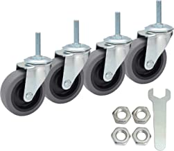 Best 6 inch pneumatic caster wheels Reviews