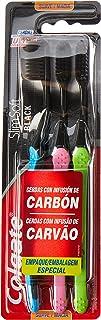 Escova Dental Colgate Slim Soft Black 3Unid