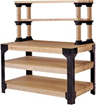 shelving workbench