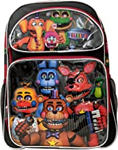 """Five Nights at Freddys 16"""" Standard Size Large Backpack"""