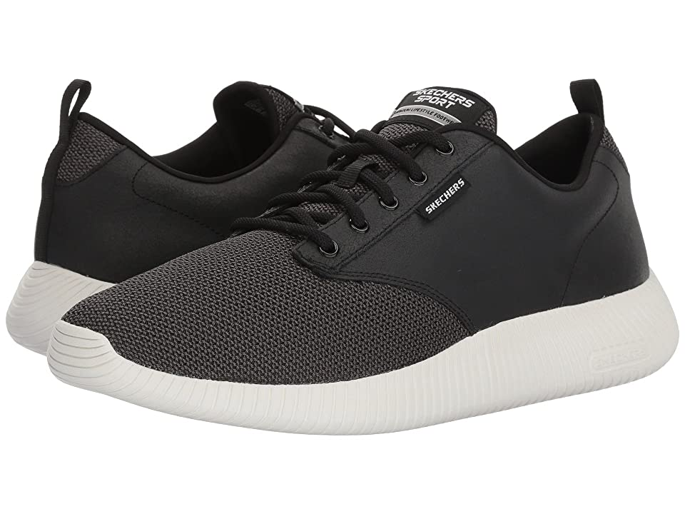 SKECHERS Depth Charge Trahan (Black/White) Men