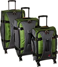 Athalon Hybrid Spinners Luggage 3 Pc Set, Grass Green/gray, One Size
