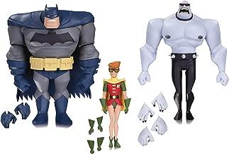 DC Collectibles Batman: The Animated Series: Batman, Robin & Mutant Leader Action Figure (3 Pack)