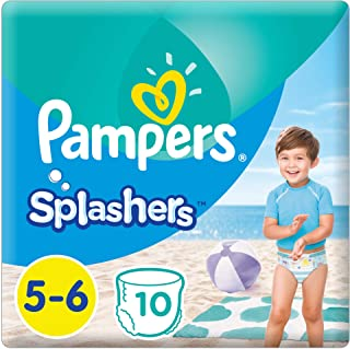 Pampers Splashers Pants, Size 5-6, 10 Count