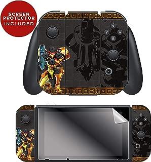 Controller Gear Nintendo Switch Skin & Screen Protector Set - Joy-Con - Metroid -