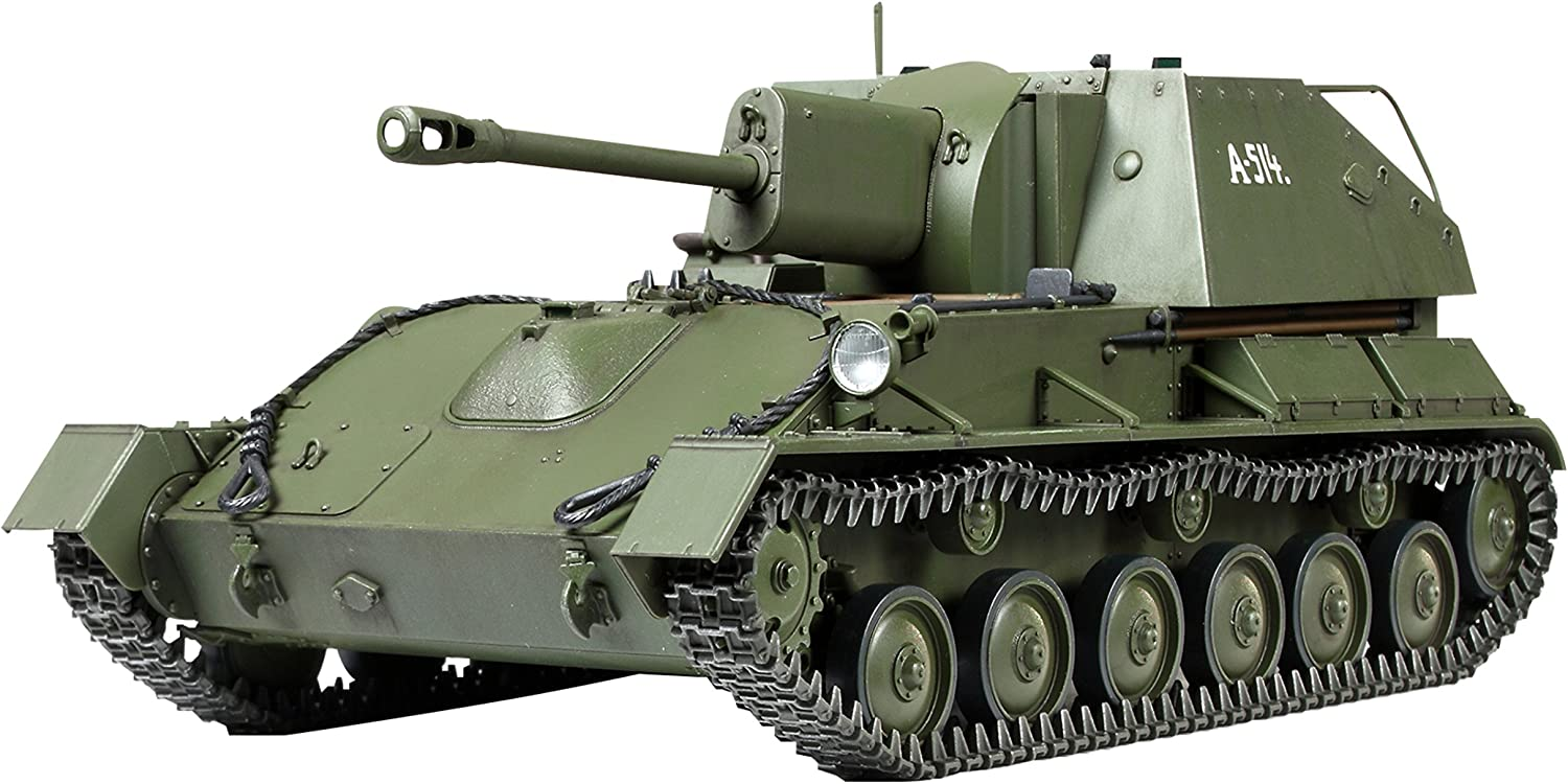 Russian Self-Propelled Gun Su-76M 1 35
