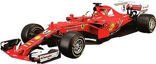 Bburago 15616805R - Maqueta a Escala 1:18 del Ferrari SF17-T 5 de Sebastian Vettel