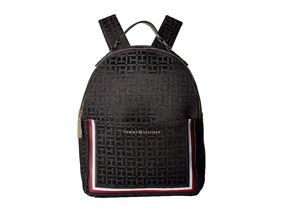 Tommy Hilfiger Carmen Backpack (Black) Backpack Bags
