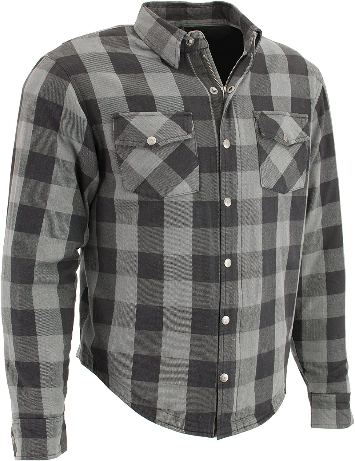 safety Max 90% OFF Milwaukee Performance-Men's Armored Checkered Flannel Shir Biker