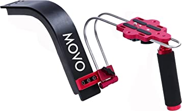 Movo Photo SG300 Deluxe Video Shoulder Support Rig for DSLR Cameras and Camcorders