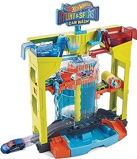 Hot Wheels Stunt & Splash Car Wash, Playset