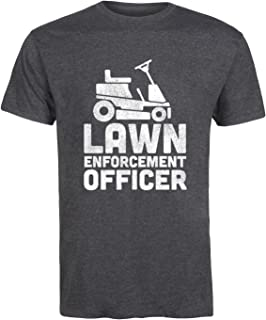 Lawn Enforcement Officer - Adult Short Sleeve Tee