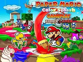Clip: Paper Mario Color Splash Gameplay - Zebra Gamer