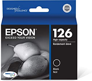Epson T126120-S DURABrite Ultra Black High Capacity Cartridge Ink