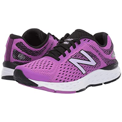 New Balance 680v6 (Voltage Violet/Black) Women
