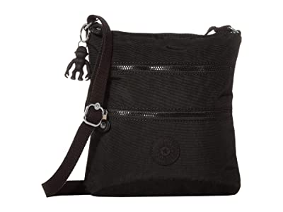 Kipling Keiko Crossbody (Black Noir) Cross Body Handbags