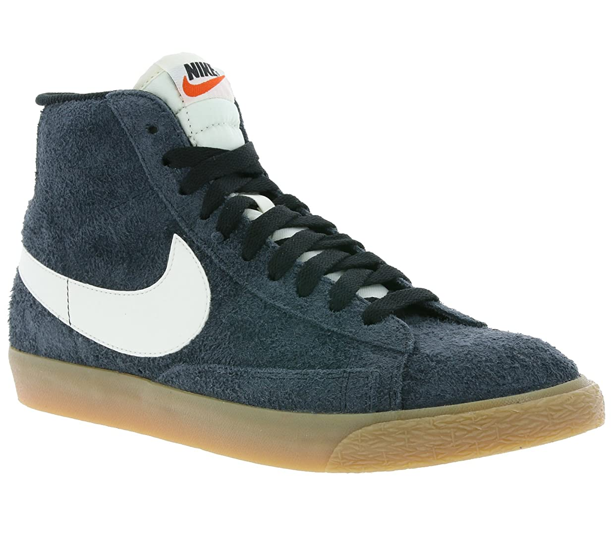貧困友だち早熟Nike Women's Blazer Mid Suede Vintage High-Top Fashion Sneaker